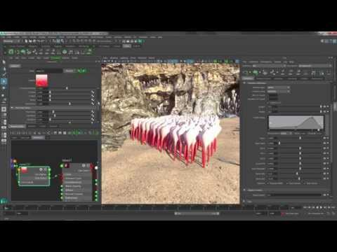 Maya 2016: XGen Enhancements