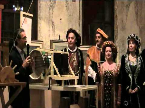 Asolando - Mostra Leonardo da Vinci ad Asolo.avi