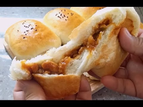 Super Soft Hand kneading Chicken Buns~Delicious!