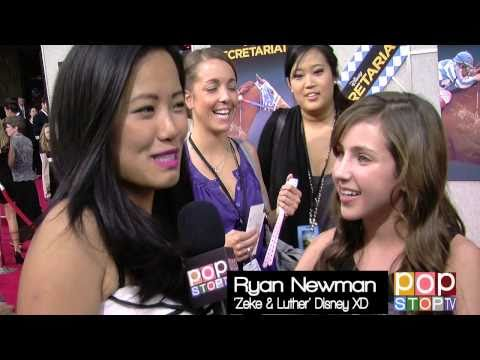Ryan Newman Talks New Season Zeke & Luther & Acting!