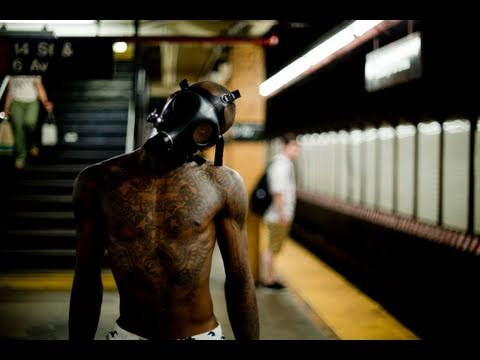 "King Bones & DJ Aaron in ""Finger Food"" New York City Subway 
