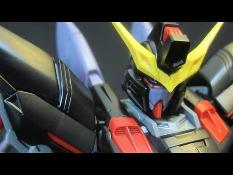 MG Blitz Gundam (Part 3: Parts) Gundam Seed gunpla plastic model review