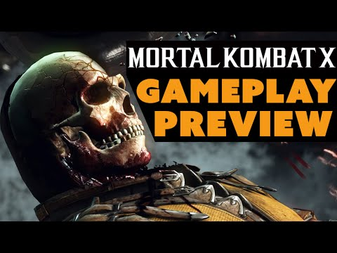 Mortal Kombat X Gameplay Preview! - The Know