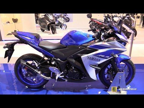 2015 Yamaha YZF-R3 - Walkaround - 2014 EICMA Milan Motorcycle Exhibition - automototube