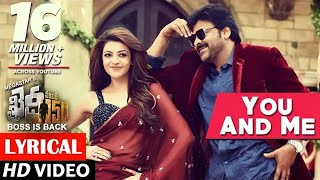 You & Me Full Song lyrical - Khaidi No 150