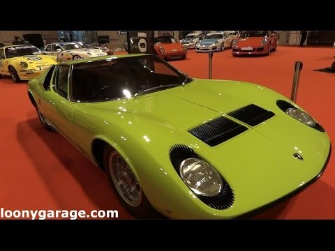 Lamborghini Miura seen on Top Gear