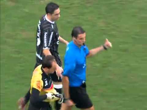 100 gol de Rogério Ceni São Paulo 2 x 1 Corinthians - Campeonato Paulista 2011 27/03/2011