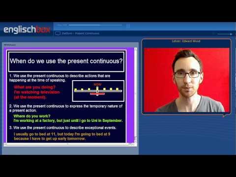 Present Continuous Tense | English Grammar