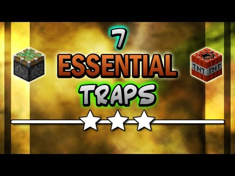 Minecraft :: 7 Essential Traps (1.4)