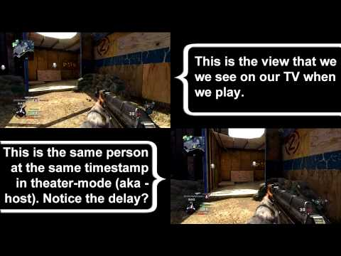 Black Ops Lag - Client vs. Host Comparison