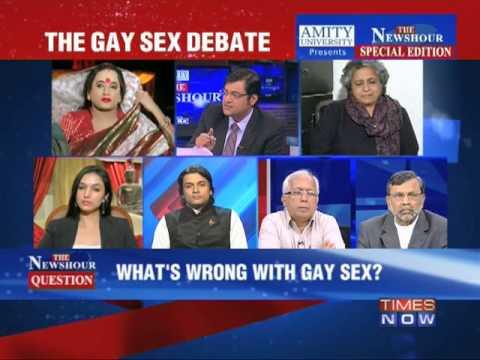 The Newshour Debate: The Gay Sex Debate - Part 1 (11th Dec 2013)