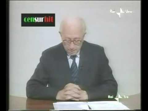 Enzo Biagi contro il Fascimo Berlusconiano (IL FATTO)