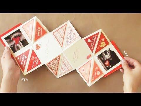 Carta Squash [FACIL] // Manualidades San Valentin-14 febrero