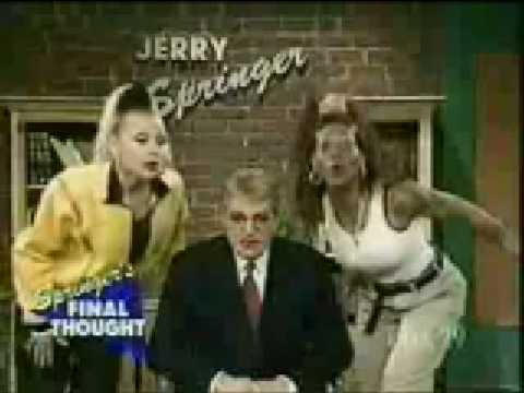 Mad TV - Lida and Melina on Jerry Springer