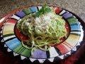Espaguetti Verde/ Green Spaghetti