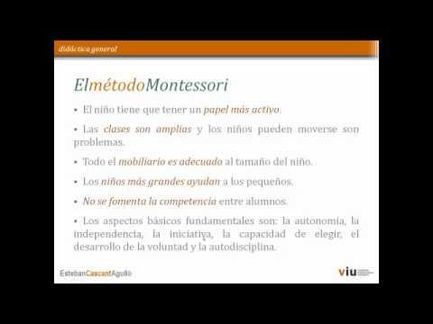 Monografía María Montessori