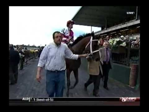 Havre de Grace - 2011 Beldame Stakes + Post Race