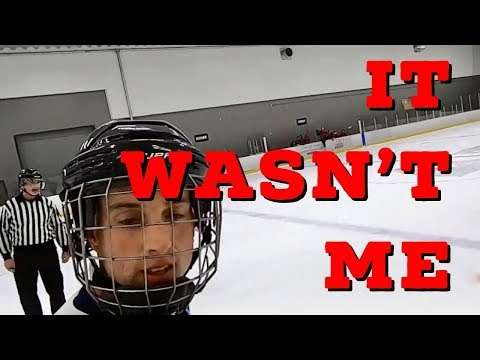 Hey Stripes! The Micd Up GoPro Hockey Ref - Game 288 - It Wasn't Me