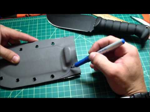 Custom Kydex Sheath Step By Step Tutorial