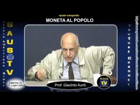 """La favola della riserva aurea, """"Il Paese dell'Utopia.."""" - MaP 17/07/2002 (HD)"""