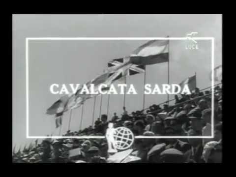 Sassari - Cavalcata Sarda del 1955 e del 1956 [Istituto LUCE]