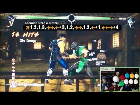 MK9 Online EP3 Liu Kang Breakdown