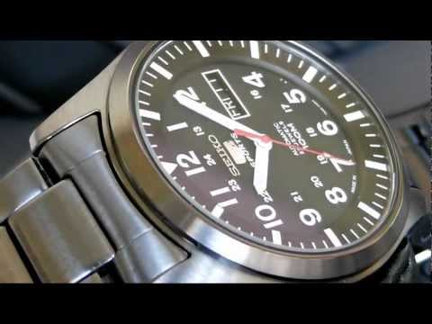 2S Time : SEIKO 5 Series SNZG17 Automatic Sports Men's Watch SNZG