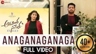 Anaganaganaga - Full Video  Aravindha Sametha  Jr. NTR, Pooja Hegde  Thaman S