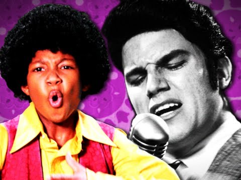 Michael Jackson VS Elvis Presley. Epic Rap Battles of History Season 2.
