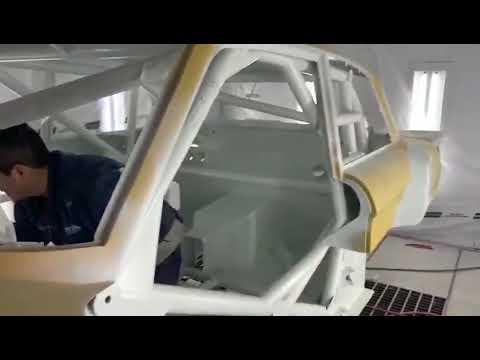 Así trabajan sobre el nuevo Ford de Werner