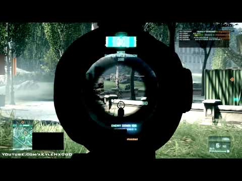 Battlefield 3 - Sneaky Sniper Multiplayer Gameplay (HD)