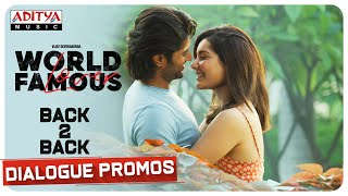 World Famous Lover Back To Back Dialogue Promos