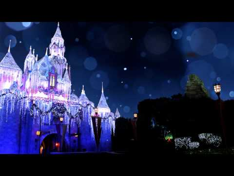 Sleeping Beauty Castle Snowfall