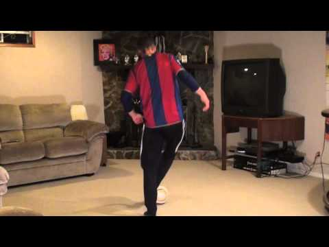 At Home Soccer Skills and Drills: Exercise #8 - Flying Side Touches
