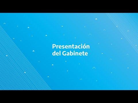 Alberto Fernández presenta su Gabinete de Ministros