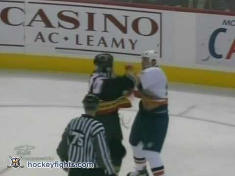 Eric Godard vs Brian McGrattan Nov 5, 2005