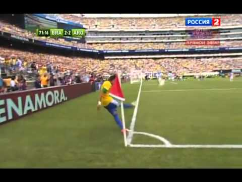 Brazil vs Argentina 3-4 Full Goals and Highlights June 9 2012