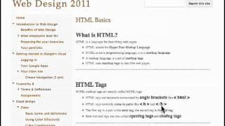 w3schools HTML Basics