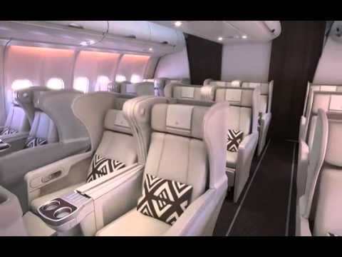 Air Pacific / Fiji Airways' all-new Airbus A330: new livery, cabin & seats