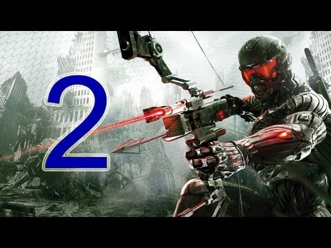 Crysis 3 Walkthrough - part 2 let's play gameplay HD PS3 XBOX PC
