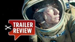 Instant Trailer Review - Gravity (2013) Teaser Trailer 1 - George Clooney Sandra Bullock Movie HD