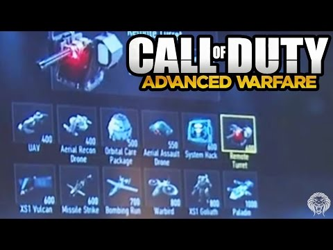 COD Advanced Warfare: KILLSTREAK LIST! Full Scorestreak List & Customization (Call of Duty AW) - unknownplayer03