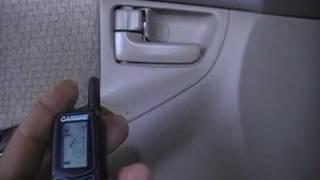 facil de instalar una alarma y prender el carro a control remoto
