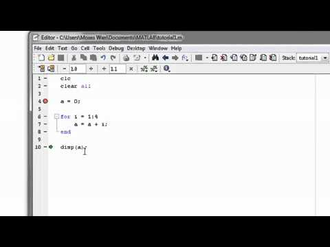 MATLAB Tutorial Part 1  Loops EngEgy com