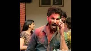 Kabir very AngryHoli Scenes  Kabir Singh StatusMovie scenes Whatsaap Status
