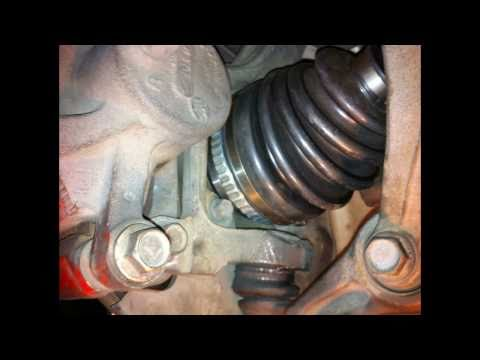 Tutorial: Install drive axle on a 1995 Honda Accord