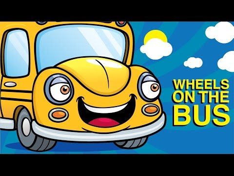 Animated Nursery Rhymes - The Wheels On The Bus