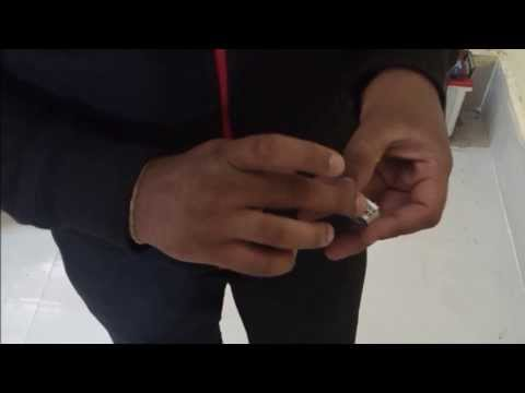 BEST MATCH BOX TRICK (Rajnikanth Style) - How to light a match stick with a single hand