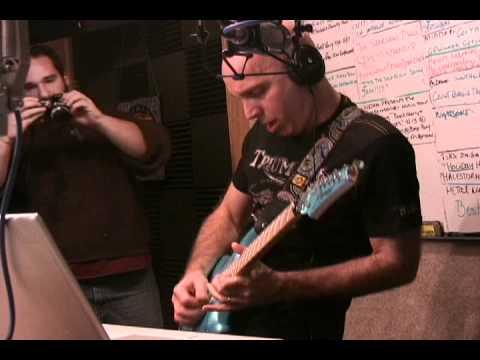 WDHA-s Studio D with Joe Satriani performing Satch Boogie