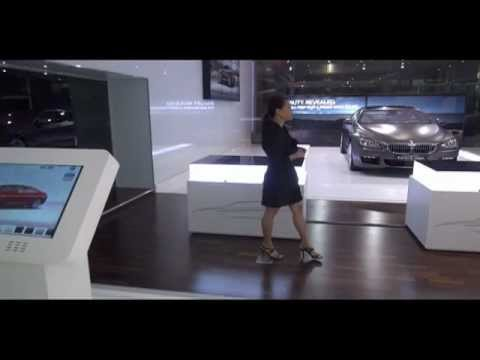 Interactive Launch kit for BMW 6 series .:. Experiential Design Lab